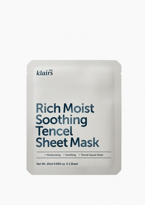 RICH MOIST SOOTHING SHEET MASK | KLAIRS