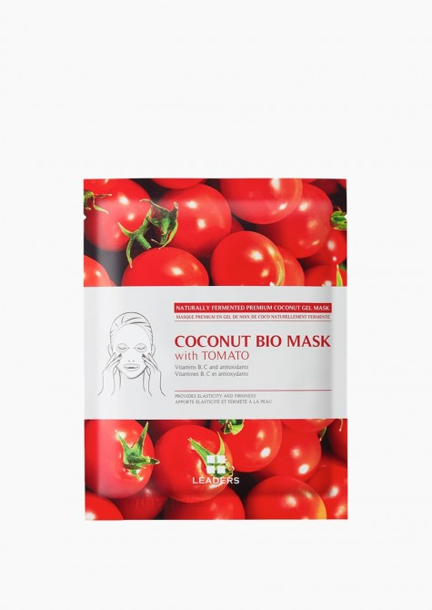 Coconut bio mask with tomato