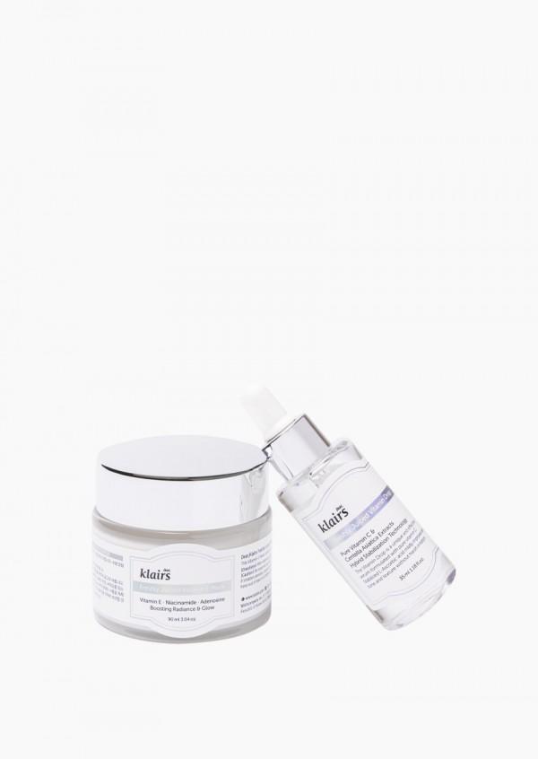 Matches we love: Vitamin C serum + Vitamin E mask